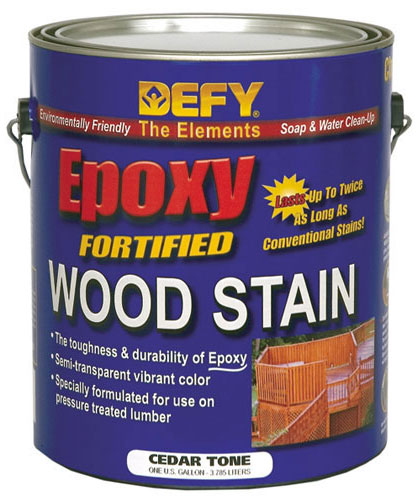 DEFY Epoxy Fortified Professional Wood Stain