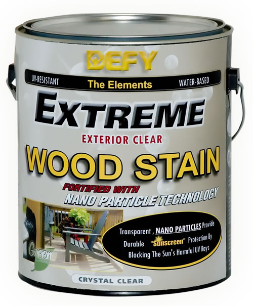 DEFY Extreme Clear Wood Stain
