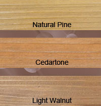 DEFY Extreme Semi-Transparent Wood Stain Colors