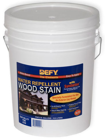 DEFY Water Repellent Wood Stain