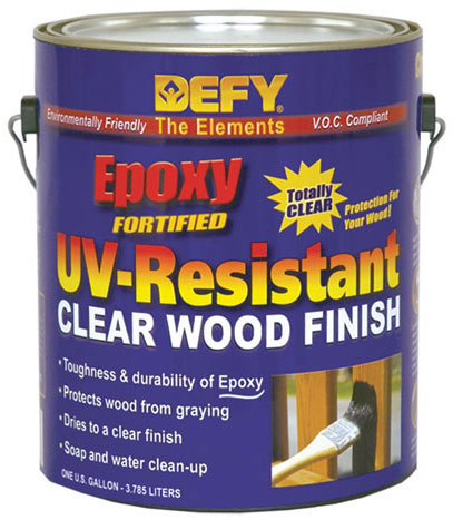 DEFY UV-Resistant Clear Wood Finish