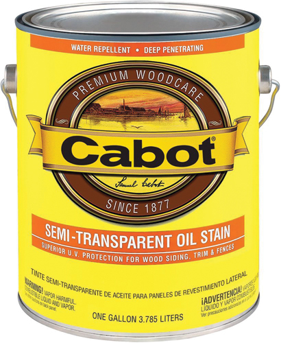 Cabot 0300 Series Semi-Transparent Deck & Siding Stain