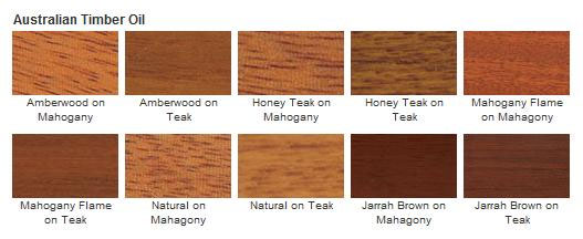 Cabot 3400 Series Australian Timber Oil Colors