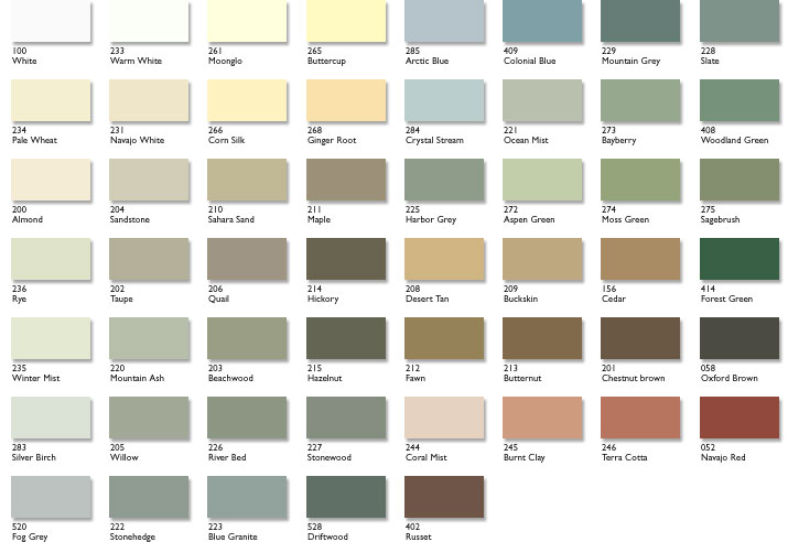Rubbol Solid Stain Colors